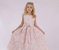 Детское нарядное платье  для девочки Катюшенька, размеры 135-160