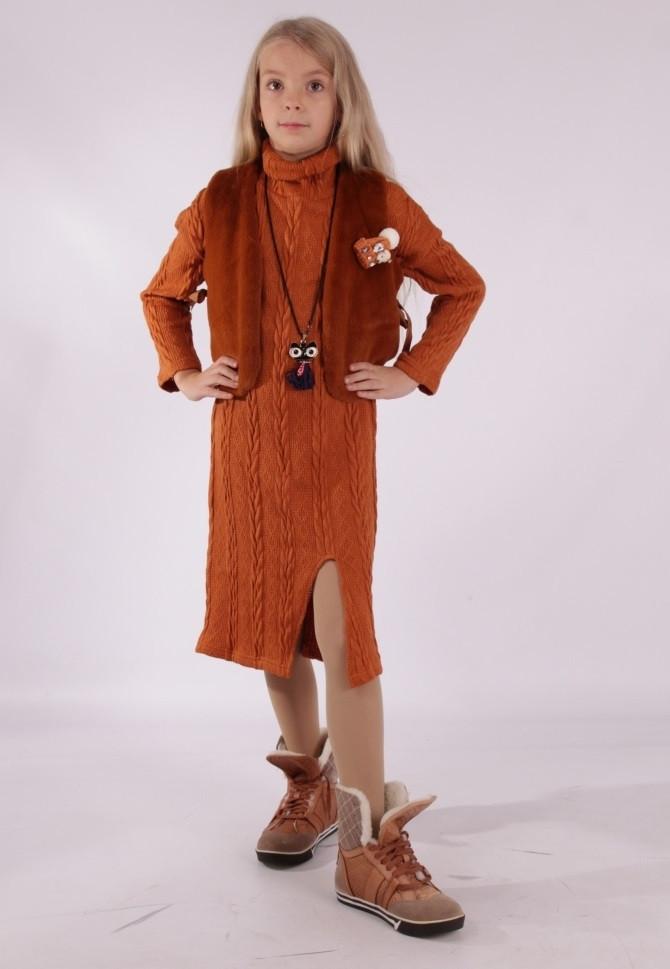 Детский костюм двойка для девочки Триса, размеры 140-164