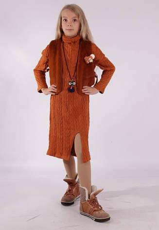 Детский костюм двойка для девочки Триса, размеры 140-164, фото 2