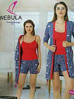 """Халат и пижамка в комплекте """"Nebula Lingerie"""""""