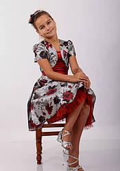 Детское нарядное платье с болеро  для девочки от Timole , размеры 122-134