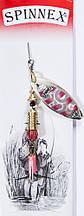 Вращающаяся блесна Spinnex col.054