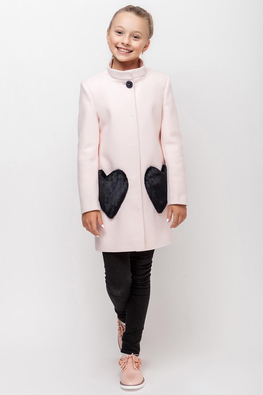 Детское пальто демисезонное для девочки VPD 1, 122-140