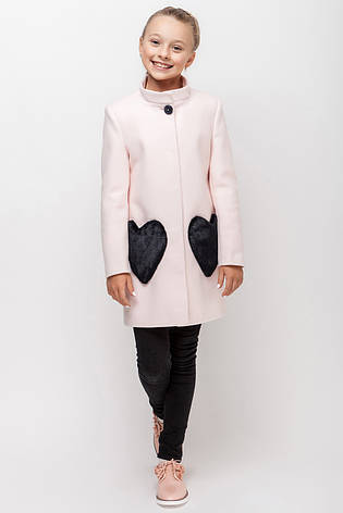 Детское пальто демисезонное для девочки VPD 1, 122-140, фото 2