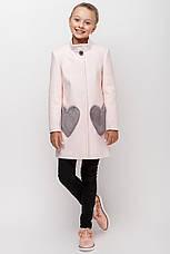 Детское пальто демисезонное для девочки VPD 1, 122-140, фото 3