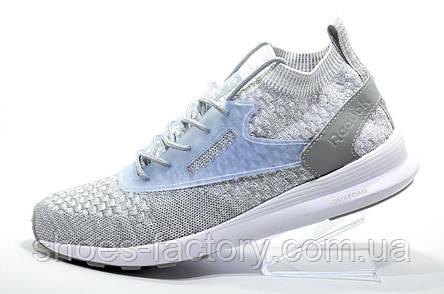 Мужские кроссовки в стиле Reebok Zoku Runner Ultraknit Fade, Grey, фото 2