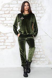 Женский спортивный костюм из бархата (Милена mrb)