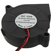 10 штук 3D-принтер 12V DC 50 мм * 50-миллиметровый радиальный охлаждающий вентилятор