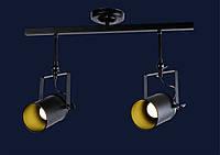 Потолочный трековый светильник LOFT L61SD02-2 BK