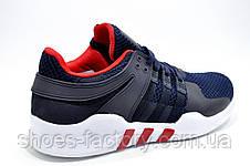 Мужские кроссовки Adidas в стиле EQT Support ADV, Dark blue\Red\White, фото 3