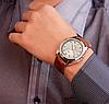 Мужские часы Yazole MW324-325 Brown White, фото 2