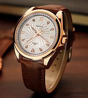 Мужские наручные часы Yazole 2018  MW324-325 Brown White