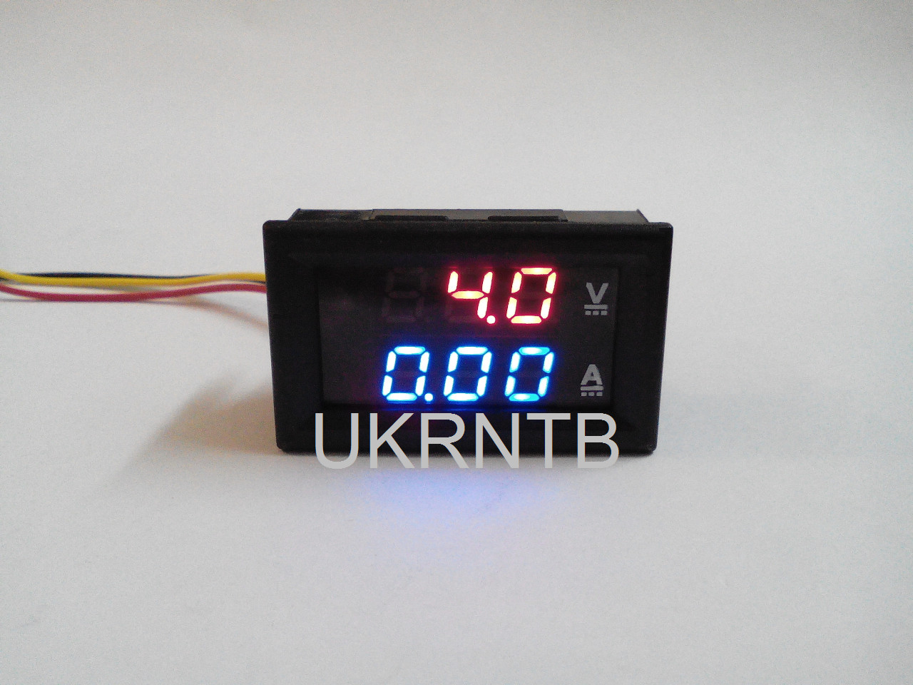 Вольтметр-амперметр цифровой / Вольтметр / Амперметр / (3,7-30 В, 0-100 В, до 10 А)