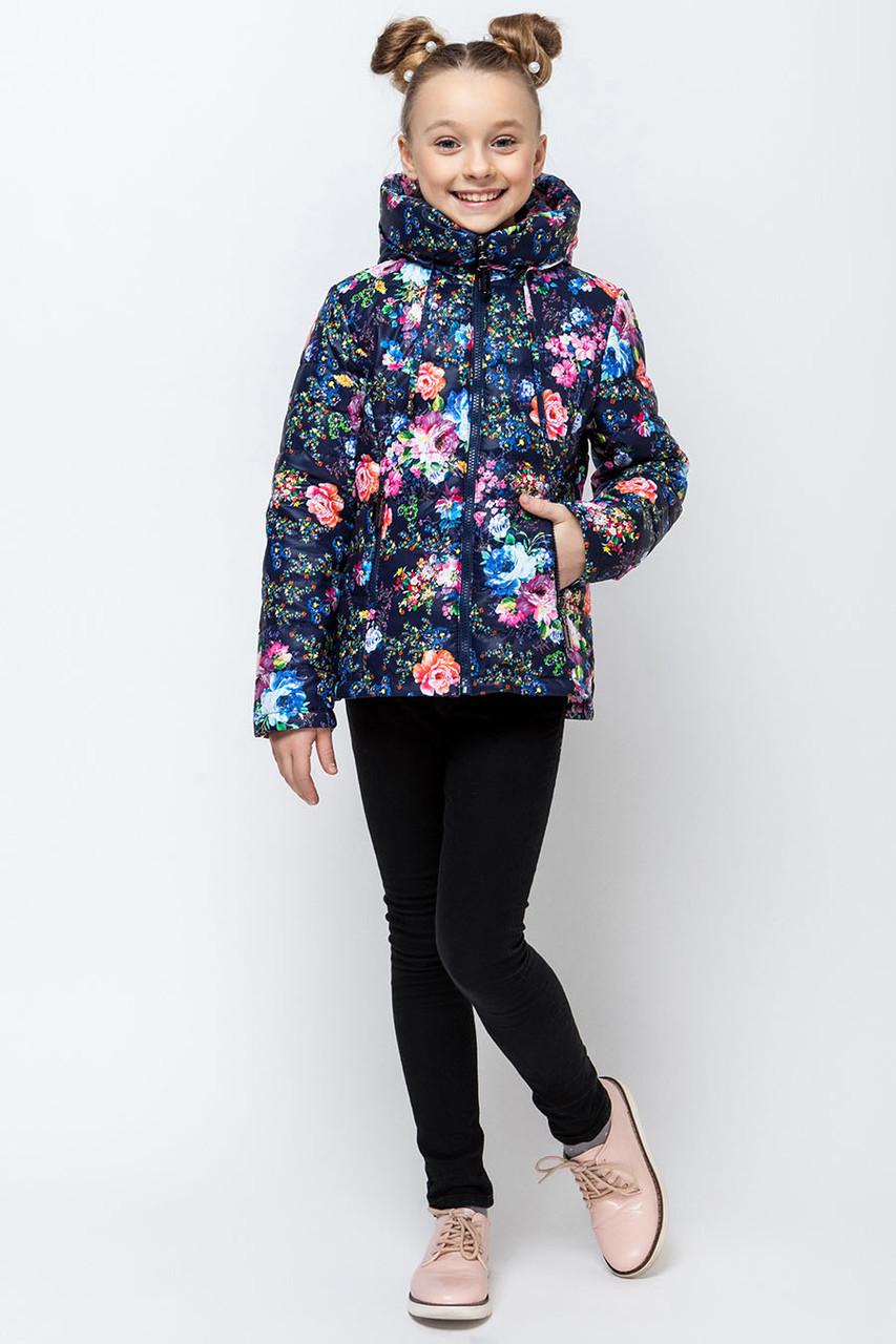 Детская демисезонная куртка для девочки VKD-4, 110-140