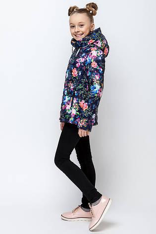 Детская демисезонная куртка для девочки VKD-4, 110-140, фото 2
