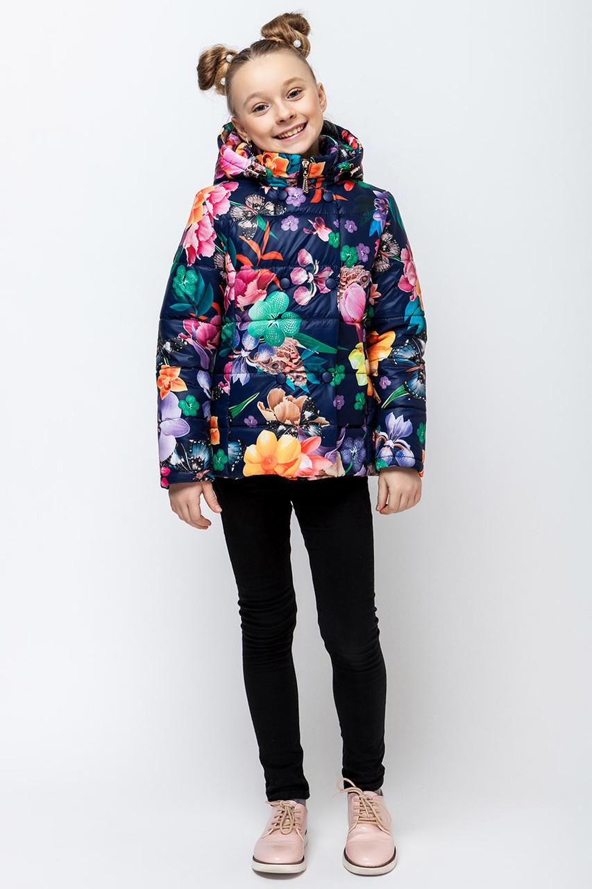 Детская демисезонная куртка для девочки VKD-2, 110-140