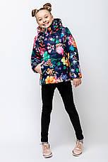 Детская демисезонная куртка для девочки VKD-2, 110-140, фото 2