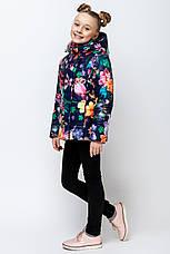 Детская демисезонная куртка для девочки VKD-2, 110-140, фото 3