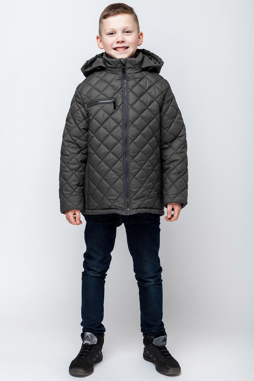 """Детская  демисезонная куртка для мальчика """"VKM4"""" 122-152"""