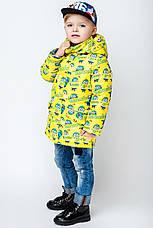 """Детская  демисезонная куртка для мальчика """"VKM1"""" 92-122, фото 2"""