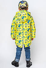 """Детская  демисезонная куртка для мальчика """"VKM1"""" 92-122, фото 3"""