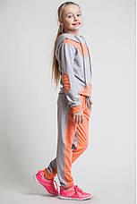 Детский спортивный костюм для девочки Звезда, 122-152, фото 3