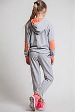 Детский спортивный костюм для девочки Звезда, 122-152, фото 2