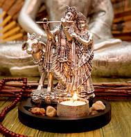 Подсвечник настольный «Радха Кришна»