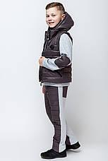 Детский тёплый спортивный костюм-тройка для мальчика Sity, 134-152, фото 3