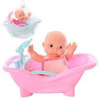 Кукла пупс с ванночкой, T605-11-13