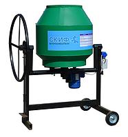 Бетоносмеситель (бетономешалка) БСМ - 150 л. стальной венец, ел.двиг.- 550 Вт
