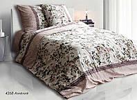 """Полуторный постельный комплект """"Амелия"""". Бязь люкс."""