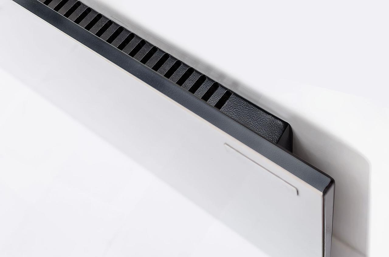 Керамический обогреватель с усиленной конвекцией бежевый с терморегулятором 525 Вт ТМ Камин
