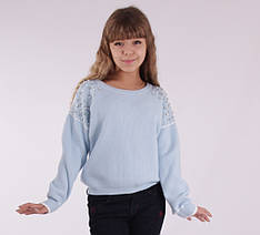 Детский свитер для девочки 3012, на возраст 13-21