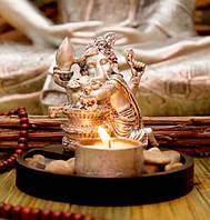 Подсвечник на 1 свечу Ганеш Шивалинг