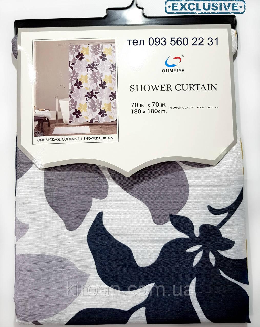 Штора в ванную Canvas Premium 178Х183 см Эксклюзив SC1923361