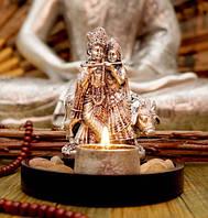 Подсвечник интерьерный Радха Кришна