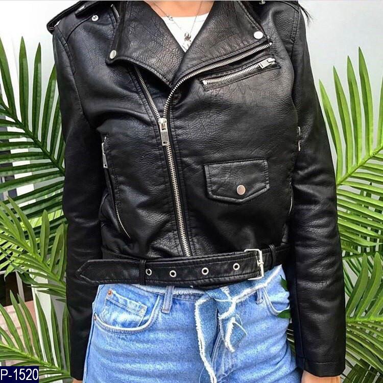 1cb62471a8d Женская куртка кожаная косуха 42 44 46 размер 7 км  продажа