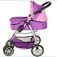 Детская коляска-трансформер для кукол 9662 (2 цвета), фото 5