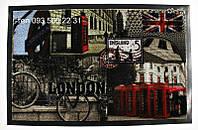 """Придверный коврик на резиновой основе 59х39 см """"LONDON"""""""