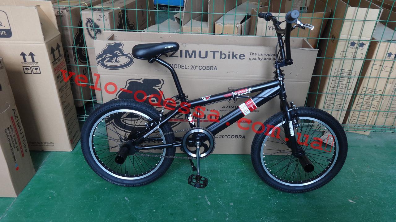 Велосипед Азимут Спирит 20 дюймов BMX трюки