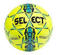 Мяч футзальный SELECT FUTSAL MIMAS NEW белый/желтый