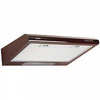Кухонная вытяжка Eleyus Line I 60 BR (коричневая) плоская