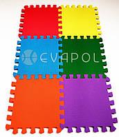 Мягкий пол пазл детский коврик Веселка Мини 300*300*10 мм 1 элемент