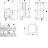 Дозирующий насос Emec AC (альгицид) 4 л/ч c ручной регулировкой (VMSEN1004), фото 4