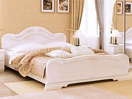 Ліжко з ДСП/МДФ в спальню Футура 1,6х2,0 з каркасом Миро-Марк