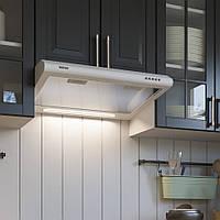 Кухонная вытяжка Eleyus Line I 60 WH (белая) плоская