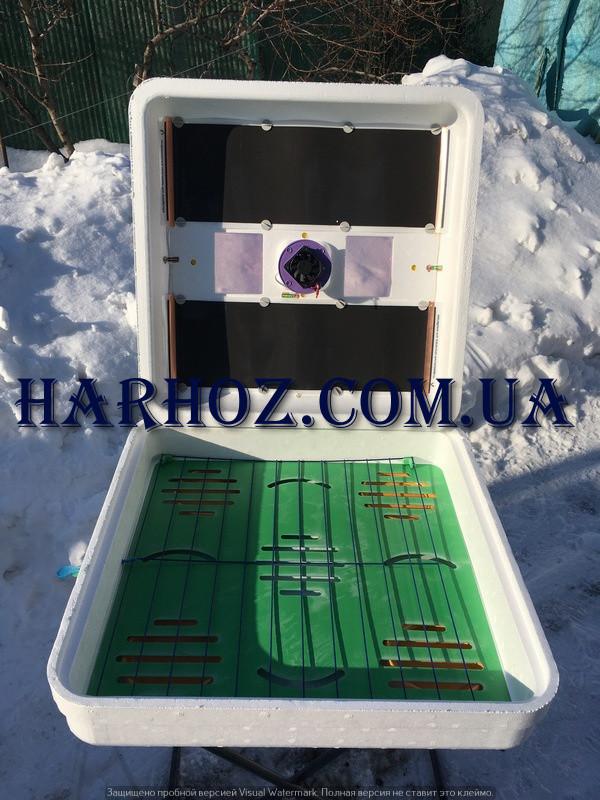 Инкубатор Рябушка SMART plus  механический, цифровой на 150 яиц , ТЭН, вентилятор