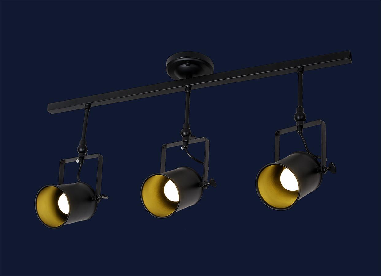 Потолочный трековый светильник LOFT L61SD03-3 BK