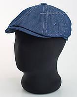 Кепка хулиганка из синего джинса